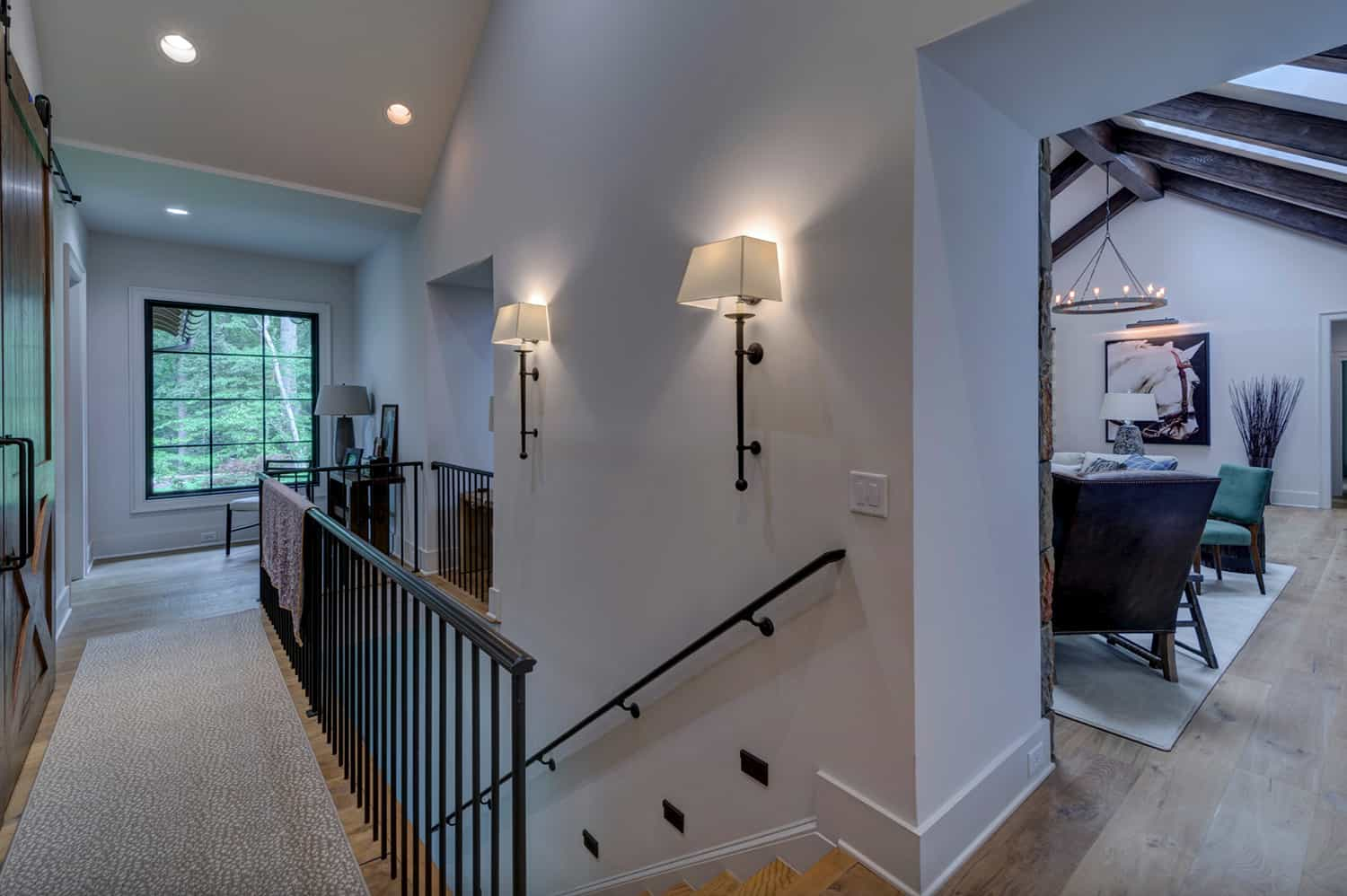 contemporary-ranch-style-staircase