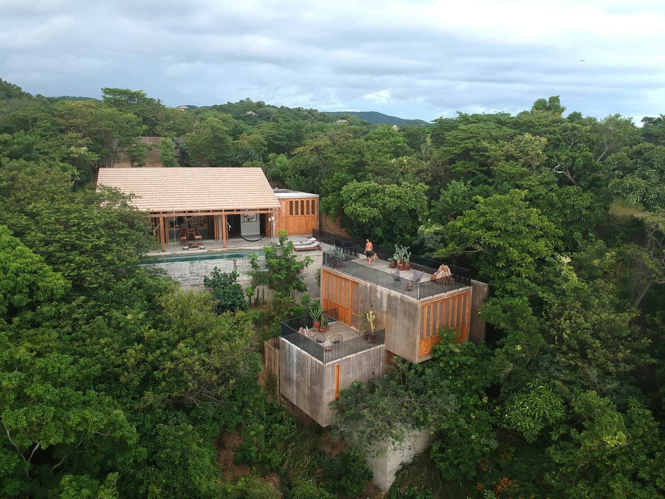 A hillside home in harmony with nature overlooks Mexico's majestic coast