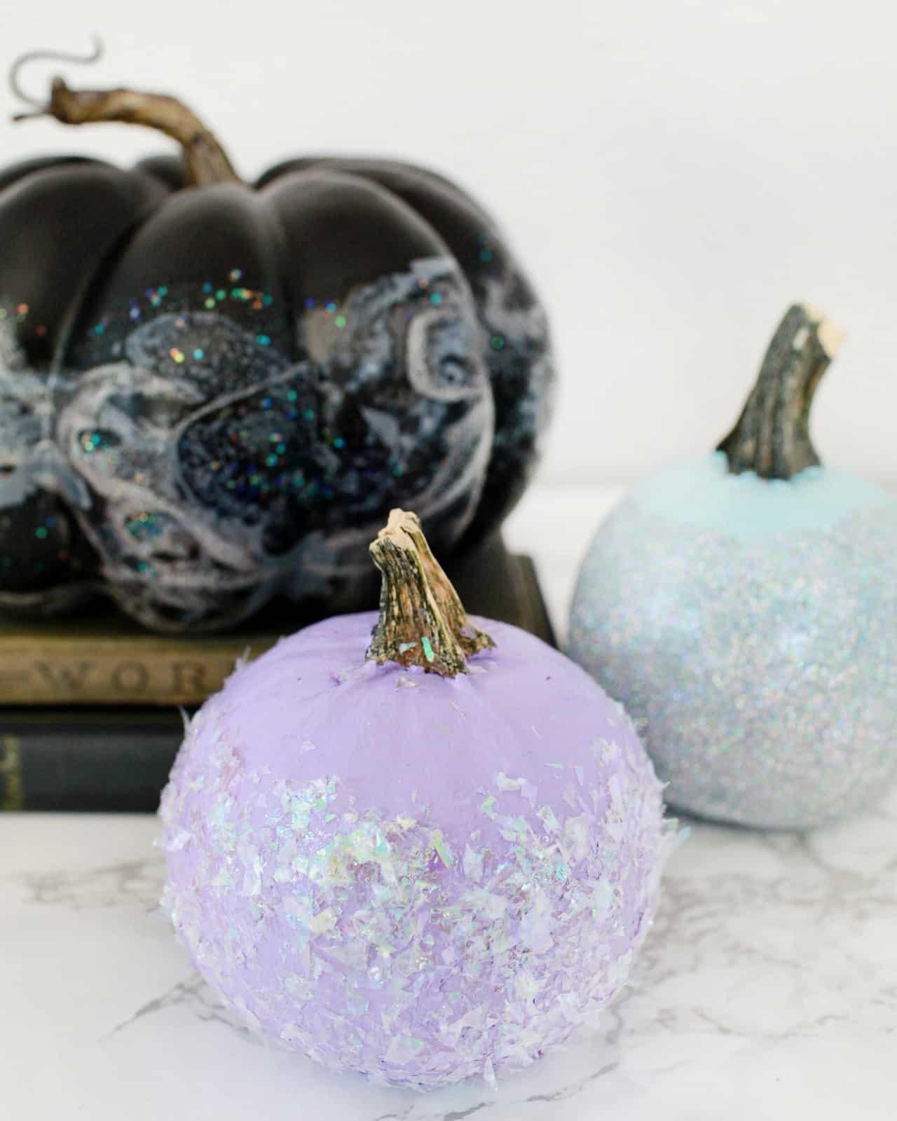 diy-iridescent-pumpkins