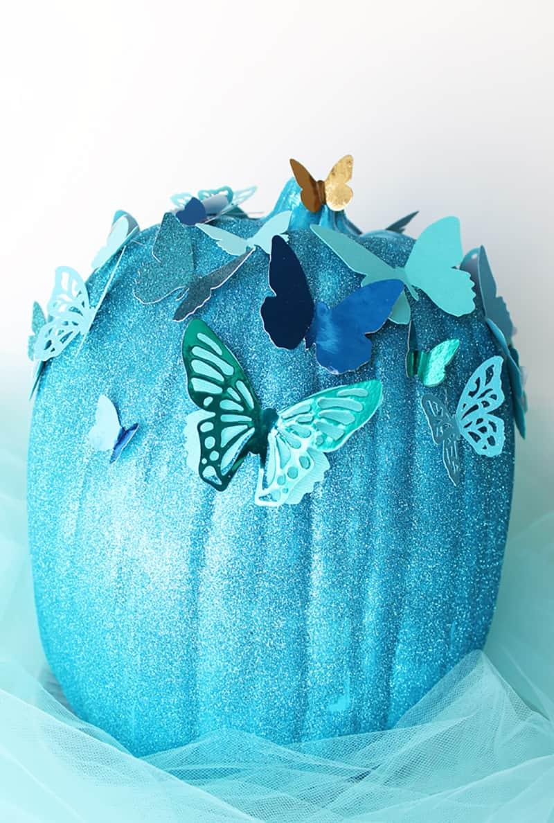 diy-butterfly-painted-pumpkin