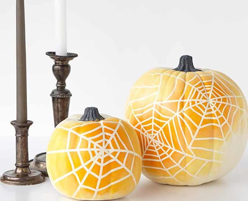 ombre-spiderweb-pumpkins