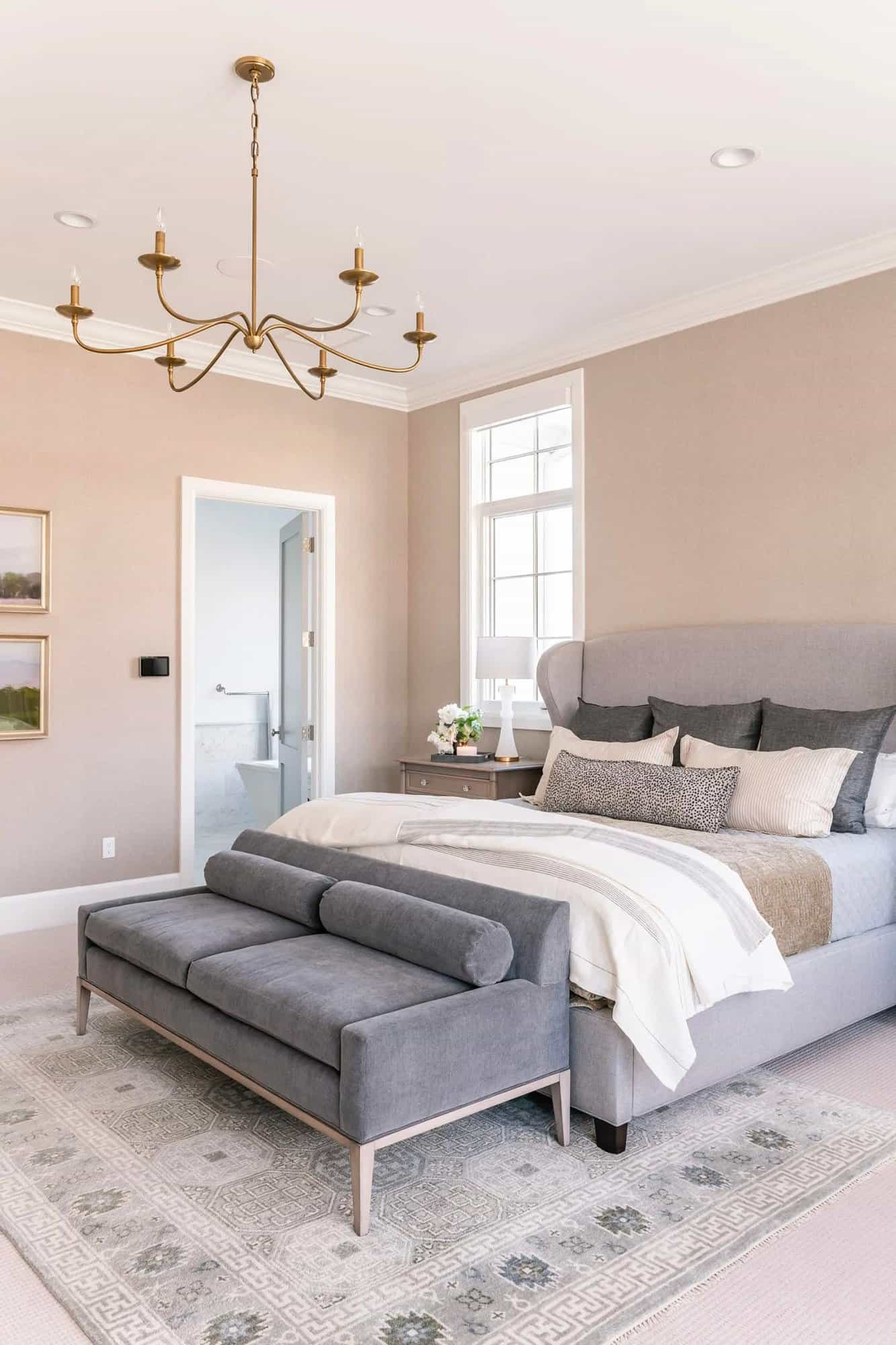 French-modern-style-bedroom