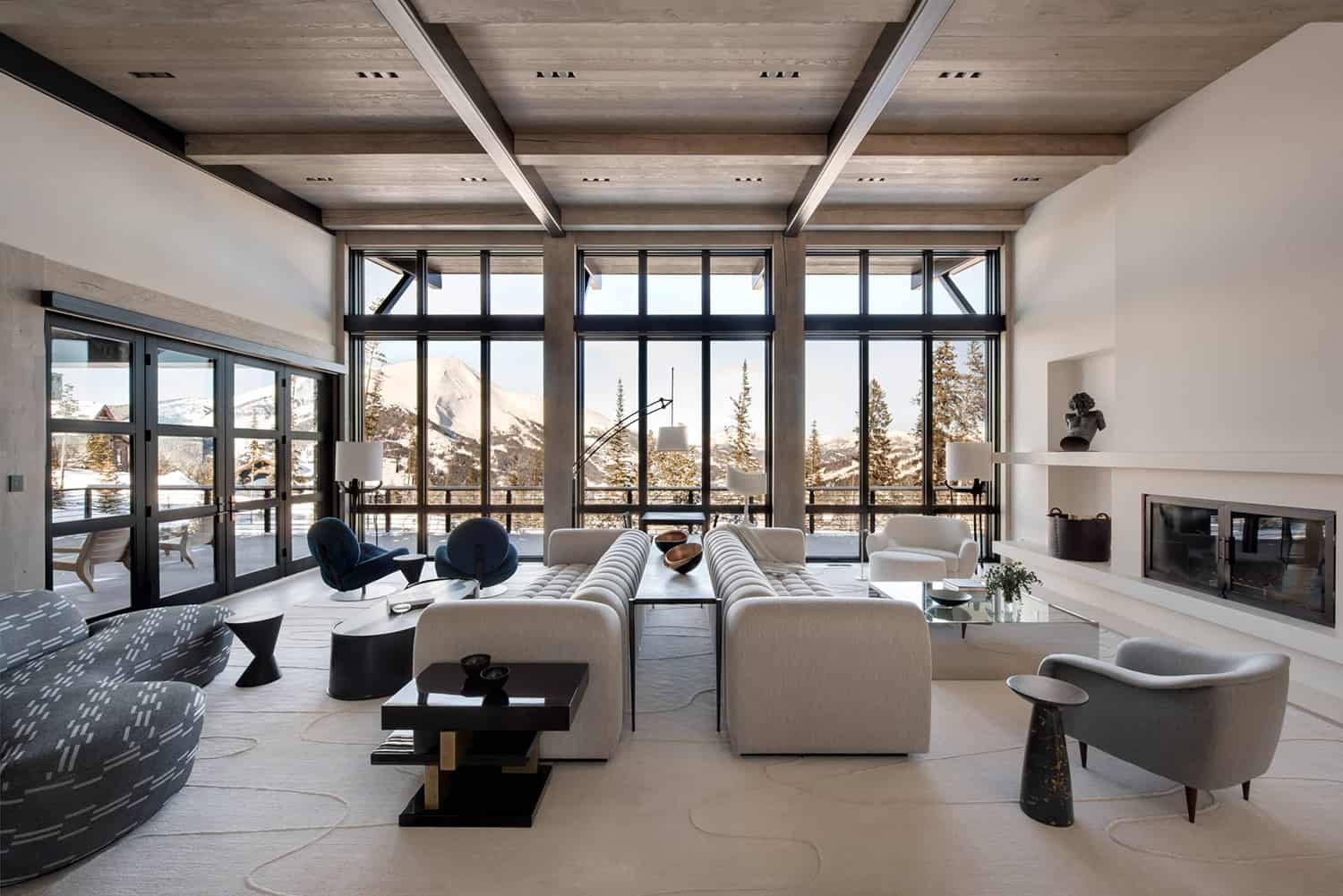 Inside a ski-in and ski-out retreat amidst the glorious Yellowstone Club