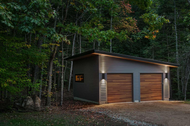 mid-century-modern-garage-dusk