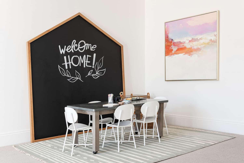 contemporary-basement-homework-room