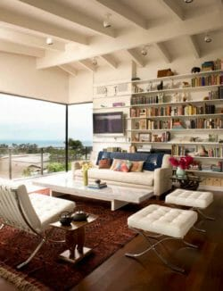 Mid-century dream home in Corona del Mar features tranquil gardens