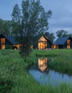 Beautiful fishing cabin offers sweeping views of the Teton Mountain Range