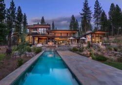 Modern home celebrates indoor-outdoor living in Sierra Nevada Mountains