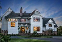 Charming South Carolina house mixes contemporary and historic elements