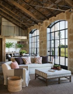 California wine country farmhouse designed with timeless details