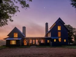 A farmhouse family retreat in South Carolina offers a relaxed lifestyle