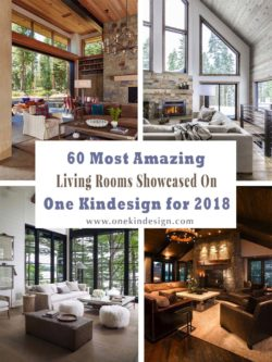 60 Most Amazing Living Rooms Showcased on One Kindesign for 2018