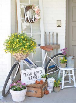 30+ Inspiring Ideas To Freshen Up Your Front Porch For Spring