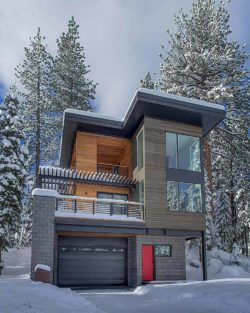 Magnificent prefabricated home in Squaw Valley: Base Camp Loft